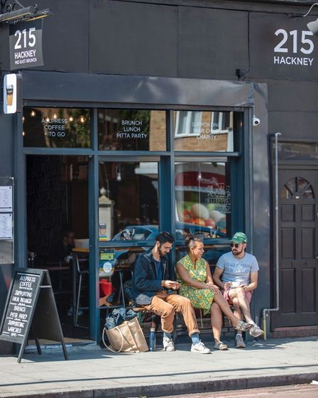 215 Hackney in Stoke Newington is offering free school meals over the school holiday. Picture: 215 H