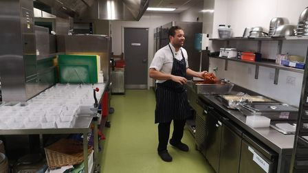 Stormont House School's head chef Charlie Gabriel came to the school in November 2019 as part of a c