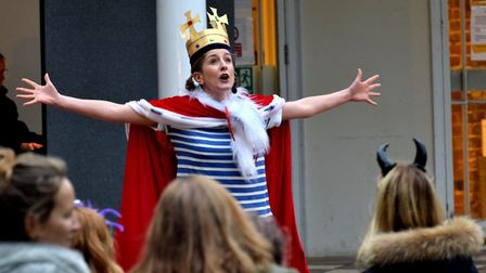 Madeleine MacMahon as Princess Ruby. Picture: Polly Hancock