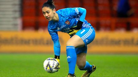 Arsenal goalkeeper Manuela Zinsberger