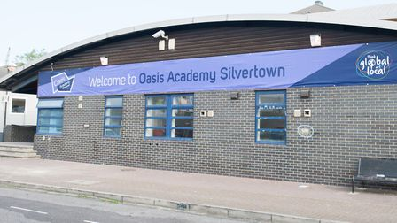 Oasis Academy Silvertown opened at its temporary site in Rymill Street, North Woolwich in 2014. Pict