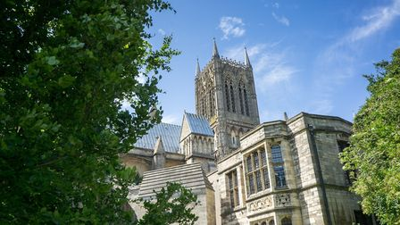 Lincoln Cathedral (pictured) is used as a performing venue for pupils at Lincoln Minster School. Pic