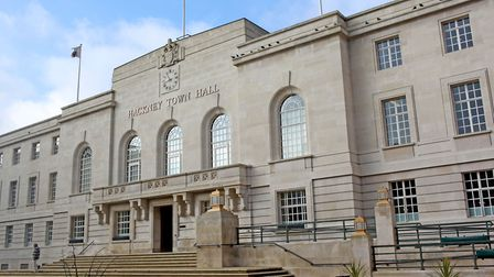 Hackney Town Hall entrance. Picture: Hackney Council