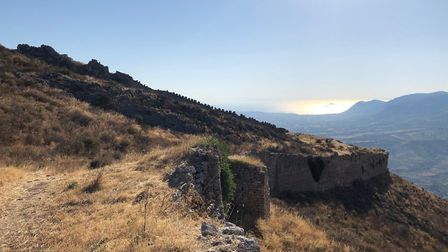 The old fort of Corinth. Picture: Emma Bartholomew