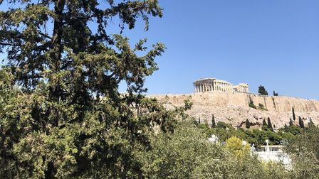The Acropolis in Athens. Picture: Emma Bartholomew