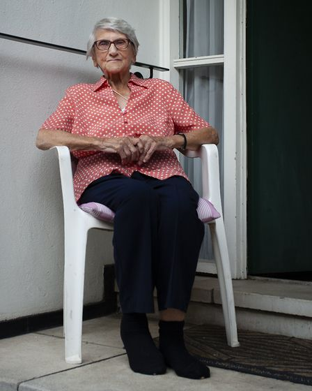 Elizabeth has lived on the Hilgrove Estate for the best part of 60 years. Picture: Rod Wynne-Powell