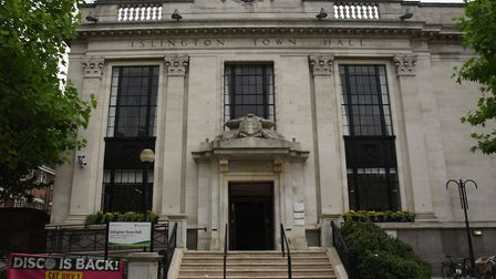 Islington Town Hall.Picture:Ken Mears