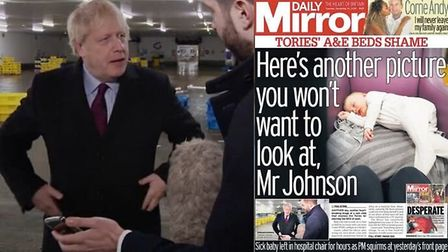 The Daily Mirror has published a second devastating photo showing the intolerable strain Tory cuts h