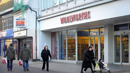 Woolworths Ipswich in 2008, the year it closed. Picture: SARAH LUCY BROWN
