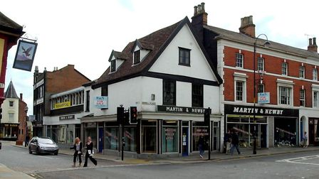 Martin & Newby on its final day of trading in 2004 Picture: JERRY TURNER/ARCHANT