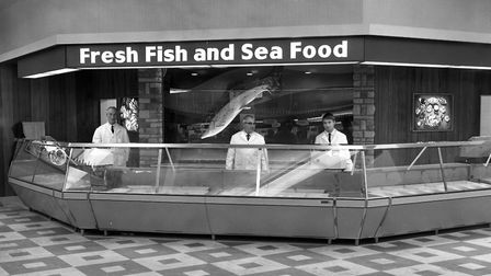 The fish counter at Woolworths, Carr Street, Ipswich in November 1968 Picture: ARCHANT