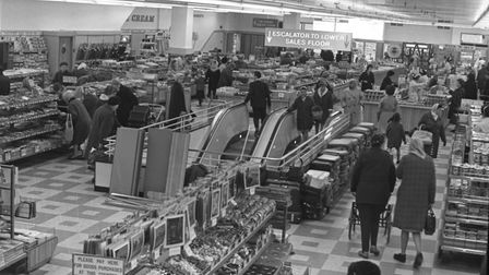 The top floor of Woolworths in Carr Street in November 1968 Picture: ARCHANT