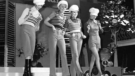The then new C&A shop held a fashion show at St Matthews Baths Hall, Ipswich, in March 1971 Picture: