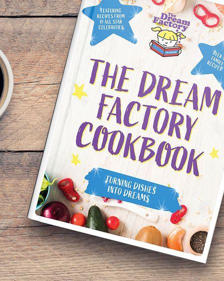 Nineteen celebrities have donated their favourite recipes to a new cookbook launched by Hainault cha