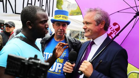 Activist Femi Oluwole (left) has called for Labour and Lib Dem candidates with a minimal vote share
