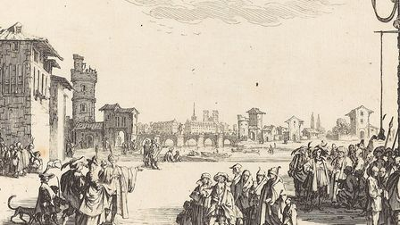 Jacques Callot, The Slave Market, 1629. Picture: National Gallery of Art / CC0