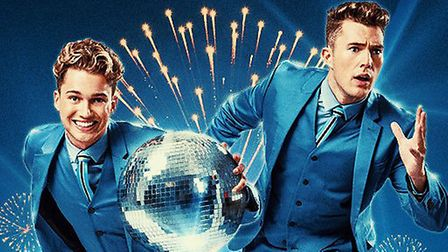 Dance stars and showbiz brothers AJ and Curtis Pritchard are bringing their new variety show to the