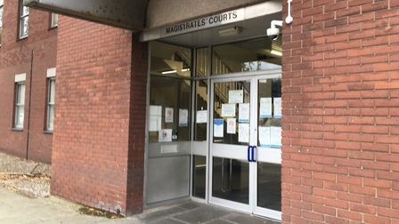 Daniel Eacott appeared at Suffolk Magistrates' Court Picture: ARCHANT