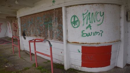 Broomhill Pool, in Ipswich, was closed in 2002. Picture: SONYA DUNCAN