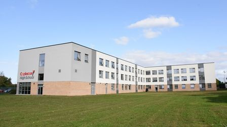 A total of 330 Copleston High School students are now self-isolating. Picture: CHARLOTTE BOND
