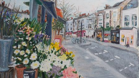 Christina Thornley holds a small exhibition at Kalendar in Swains Lane featuring views of Primrose H