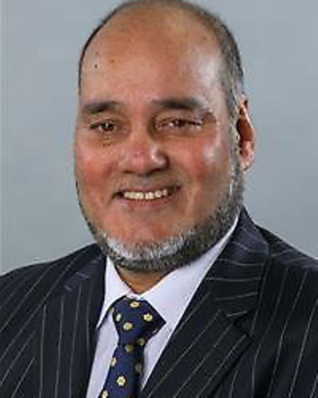 Cllr Zulfiqar Ali is cabinet member for education at the town hall. Pic: Newham Council