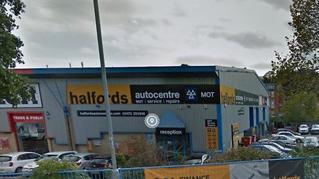 Halfords Autocentre in Ipswich - the company wants more technicians after an upsurge in used car sal