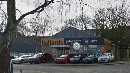 Halfords Autocentre in Norwich - the company is on a recruitment drive for more MOT testers and tech
