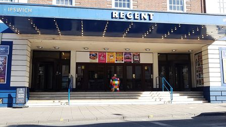David Ellesmere has warned it could be a year before shows return to the Ipswich Regent Picture: R