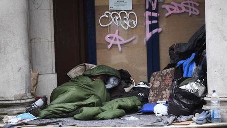 148 people were sleeping rough at the start of the Covid-19 pandemic - despite council estimates of 24. Picture: Victoria...