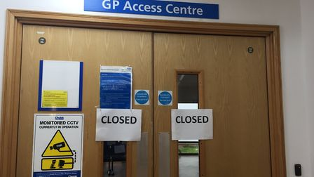 Brent CCG says the Wembley Hub in Chaplin is not closed. Picture: Maurice Hoffman