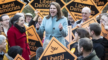The Liberal Democrats have unveiled their final poster of the election campaign just a few days befo
