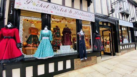 The new Pocket Watch & Petticoats in the Thoroughfare, in the old Ohh Deer store. Picture: POCKET WATCH & PETTICOATS