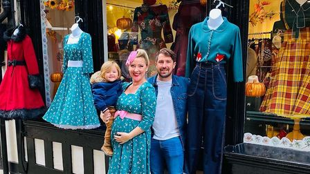 Sophia Taylor-Norris, who is the owner of Pocket Watch & Petticoats in Ipswich, which has now moved into the old home of...