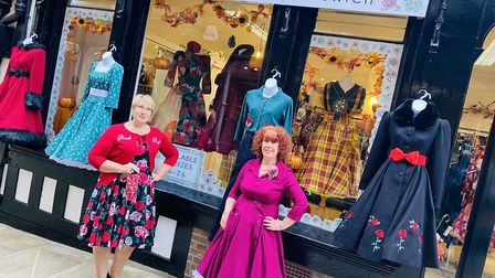 Pocket Watch & Petticoats in Ipswich, which has now moved into the old home of Ohh Deer in theThoroughfare. Picture...