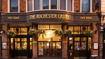 The pub can be found on Stoke Newington High Street. Picture: The Rochester Castle