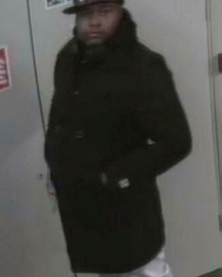 Detectives investigating a rape in Hackney have released this image of a man they wish to speak to.