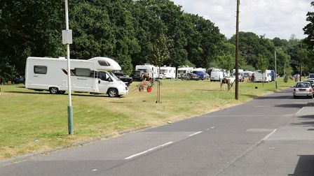 Tents and caravans would be banned from Havering's open spaces to stop illegal Traveller encampments