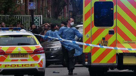 A woman died after a crash on Holloway Road. Picture: Steve Merrick