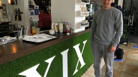Vincento Dulepa of XIX Nineteen in the High Street. Picture: Jon King