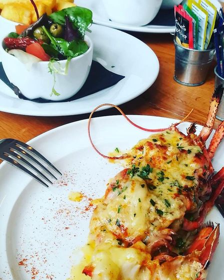 """The lobster thermidore is so good the porch fell off!"" Picture: The Woodman"
