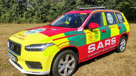 Paramedics from the Suffolk Accident Rescue Service (SARS) attended the scene of the crash on the A1