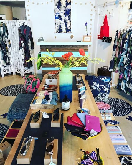 Lily King gift shop and boutique in Willesden Green. Picture: Lily King