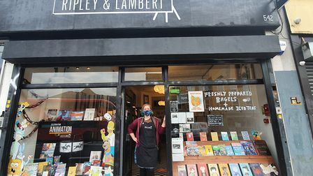 Owner of Ripley and Lambert, Catherine Staples. Picture: Holly Chant