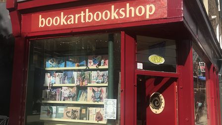 Bookartbookshop on Pitfield Street, Hoxton. Picture: Holly Chant