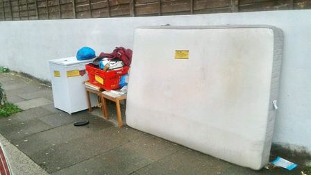 The 42 flytippers were hit with a total of £14,000 in fines. Picture: Redbridge Council