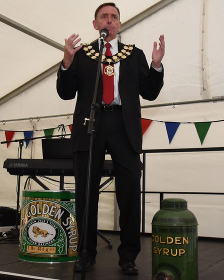 Newham first directly elected mayor. Sir Robin Wales. Picture: Ken Mears