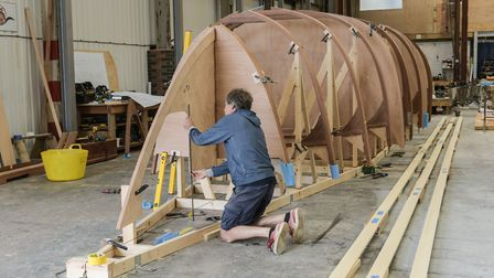 A Maritime Skills Academy could be set up in partnership with Ipswich-based Spirit Yachts Picture: SARAH LUCY BROWN