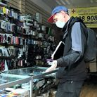 Brent Trading Standards in a Harlesden shop. Picture: Brent Council