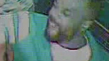 Police want to speak to this man in connection with a violent assault in Hackney. Picture: Met Polic